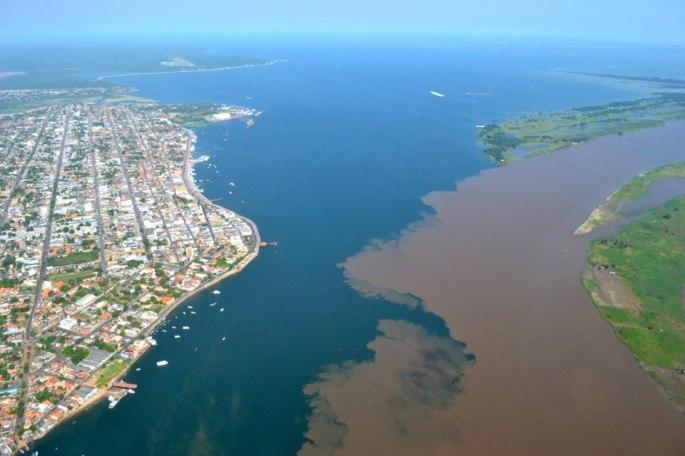 Santarém encontro das águas CAmpos e Silva